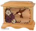 Ambassador hummingbird urn Adult Cremation Urn.