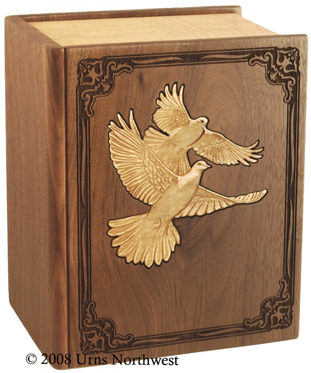 Lovebird Companion urn