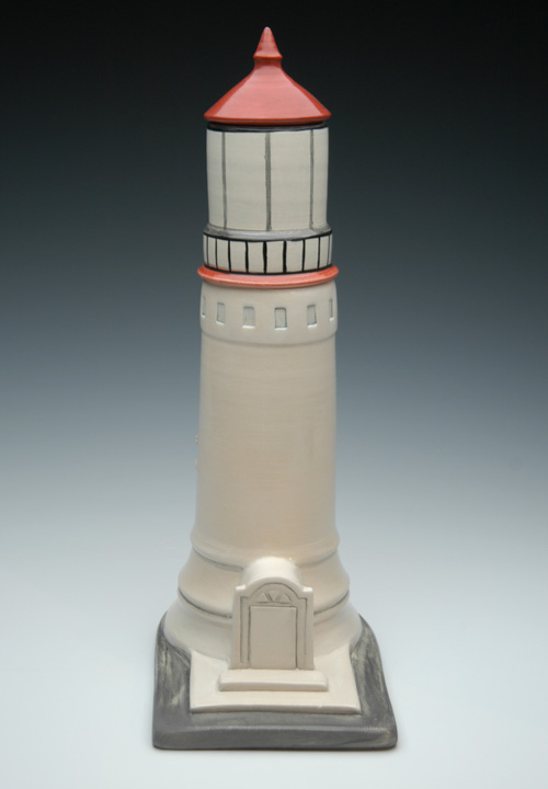 Lighthouse Cremation Urn | Ceramic Art Urns